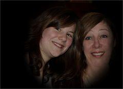 Meine Nichte Laura und ich
