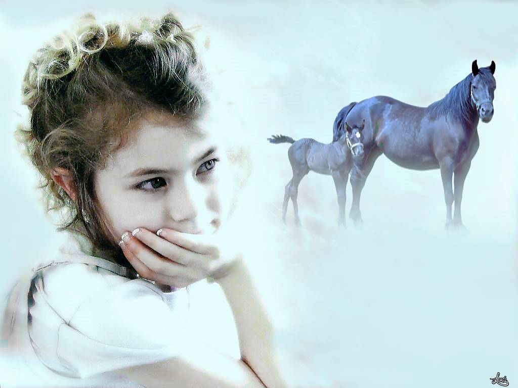 Meine Nichte............. Mein Pferd ist mein alles.....