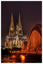 meine Sicht auf den Dom von Köln...