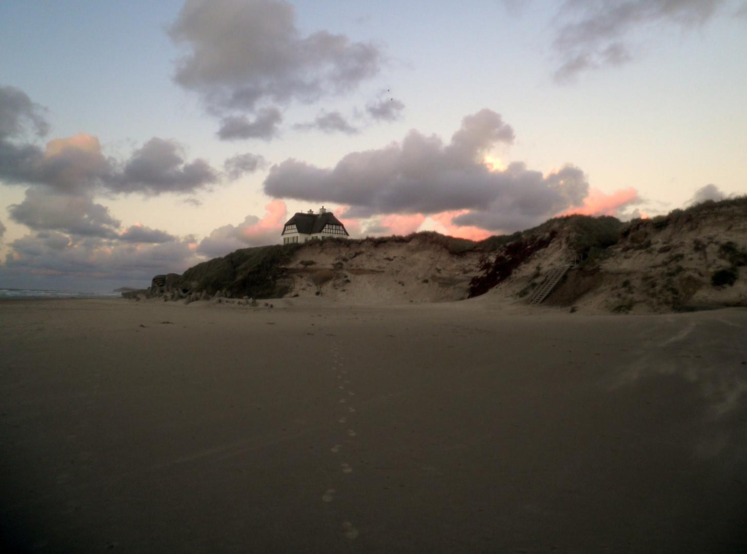 Meine Spuren im Sand.....