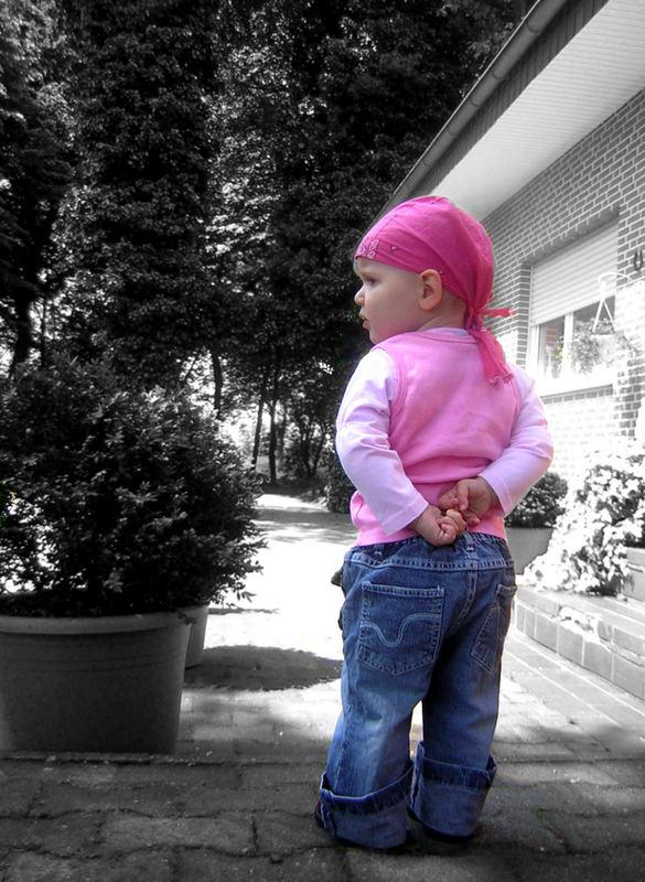 meine Tochter Alisha :)