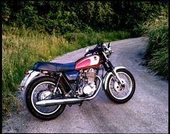 Meine Yamaha SR 500 Maple Red
