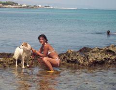 Meine Zita am Meer