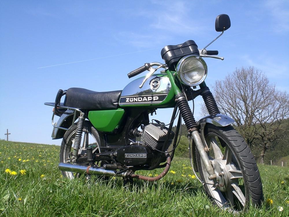 Meine Zündapp c50 Sport