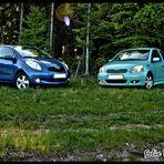 Meine Zwei Toyota Vitz