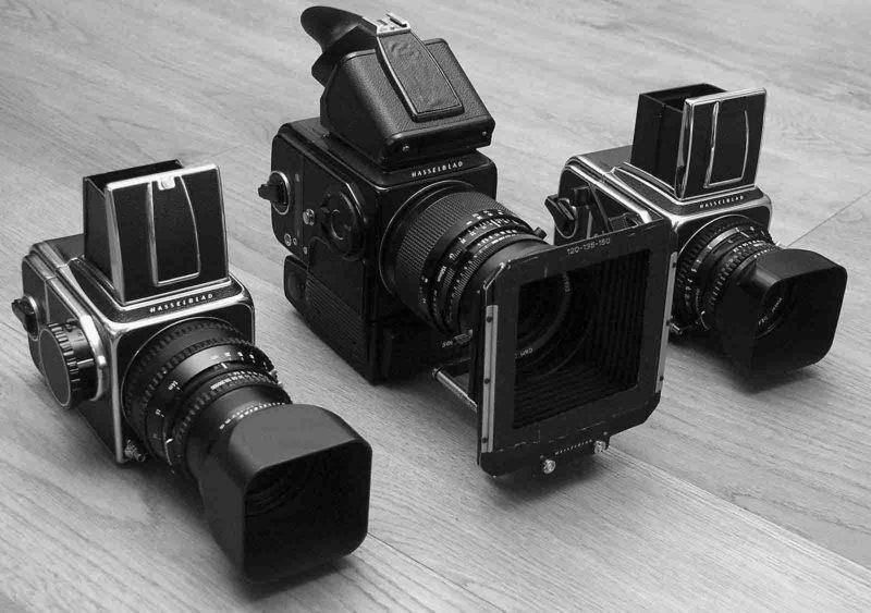 (Meine)Hasselblad Collection!Drei sind eine zuviel!
