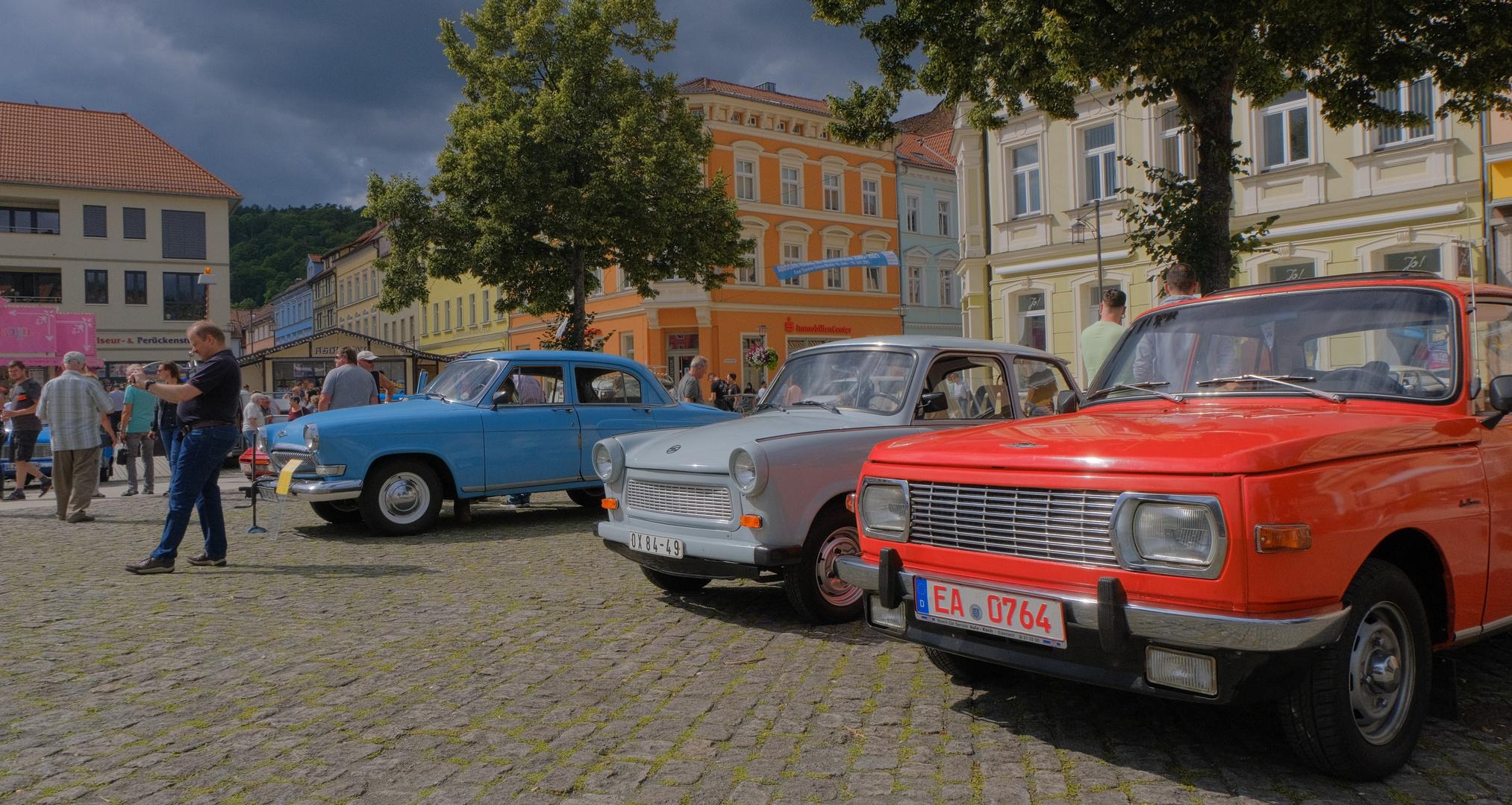 Meiningen, alte Autos, 2 (Meiningen, coches viejos, 2)