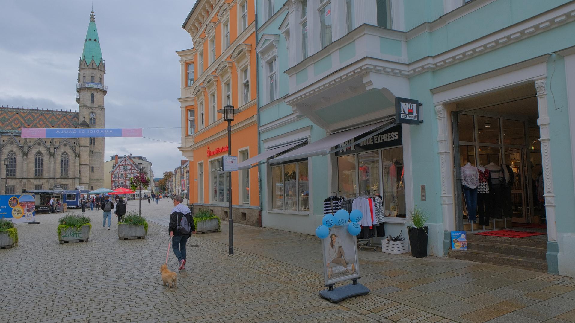 Meiningen, Hauptstraße (Meiningen, calle principal)