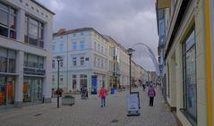 Meiningen, in der Hauptstraße (Meiningen, en la calle principal)