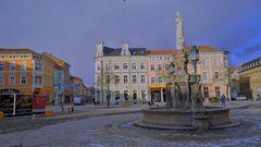 Meiningen, Marktplatz, 3 (Meiningen, plaza mayor, 3)