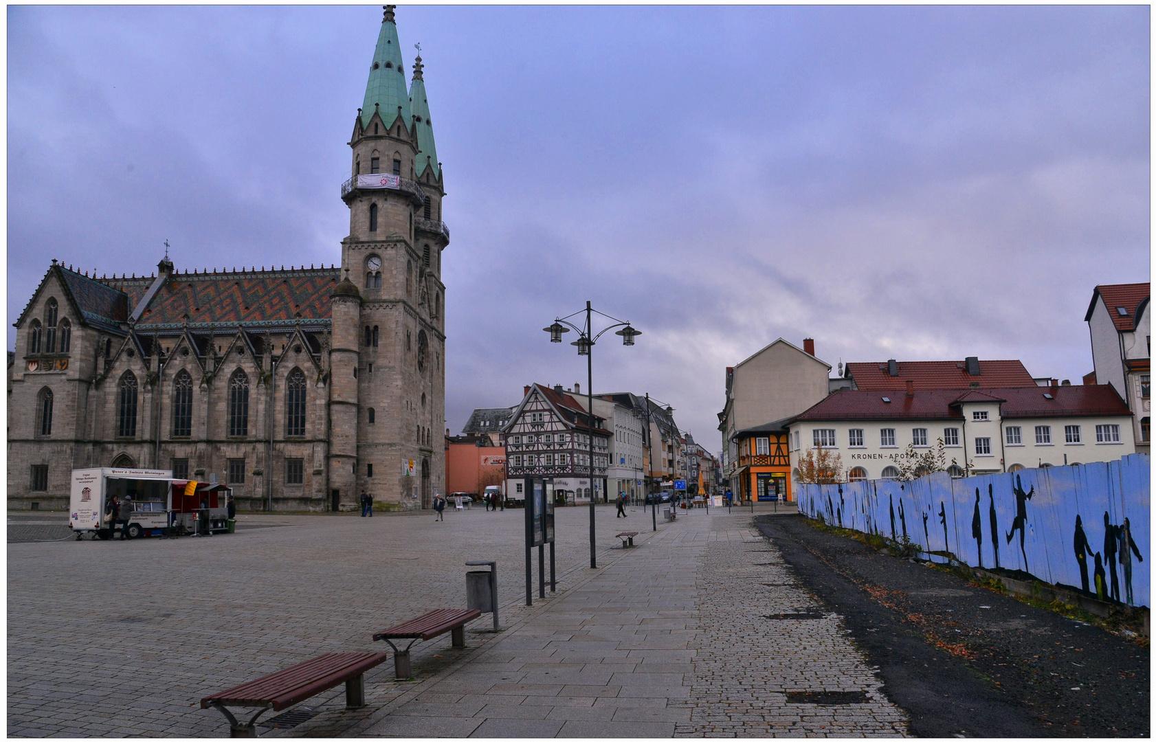 Meiningen, plaza major (Meiningen, Marktplatz)