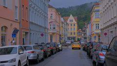Meiningen, schöne Häuser (Meiningen, casas hermosas)