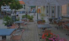 Meiningen, warten auf Gäste (Meiningen, esperando a los clientes)