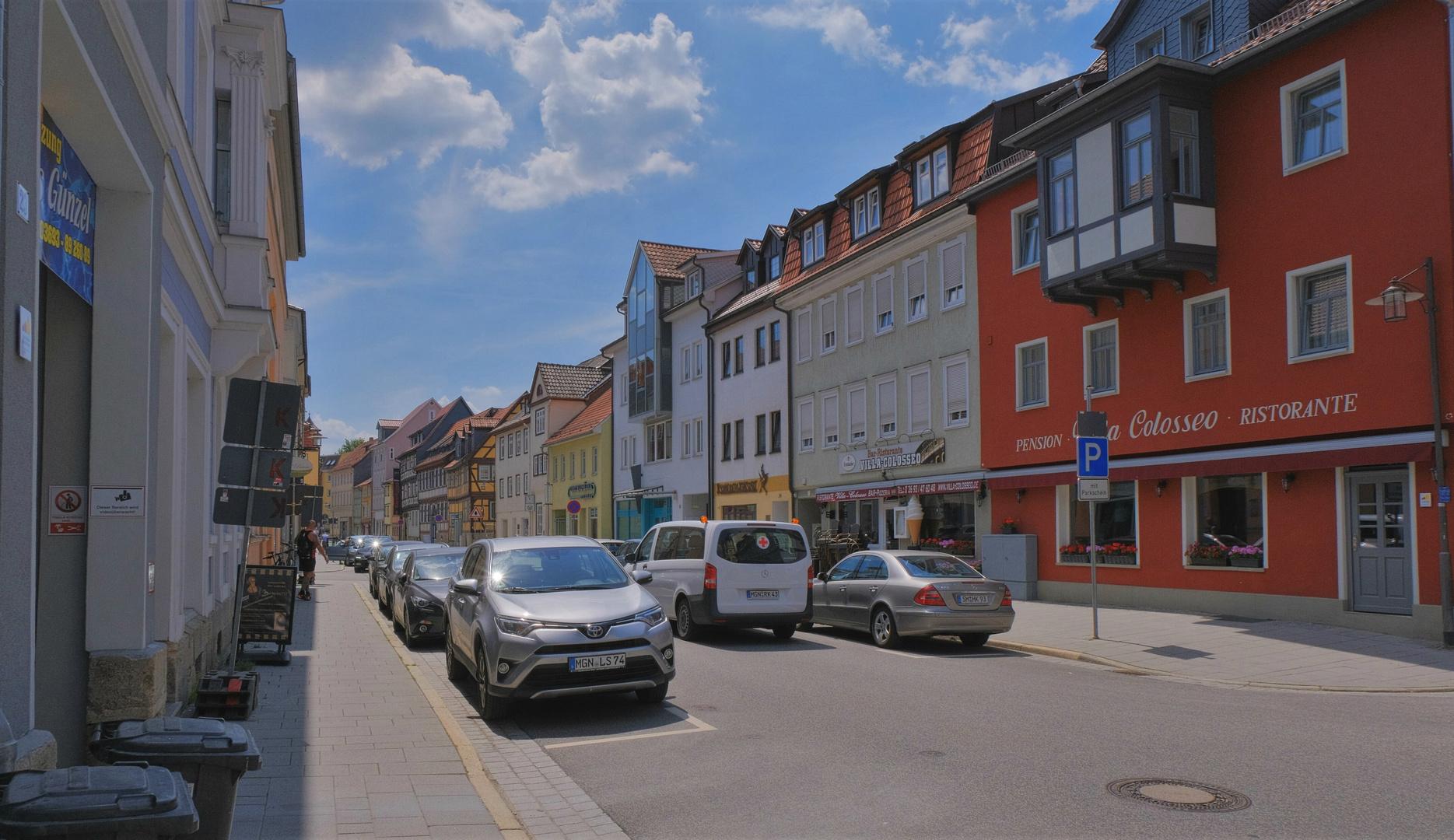 Meininger Ansicht, 5 (un motivo de Meiningen, 5)