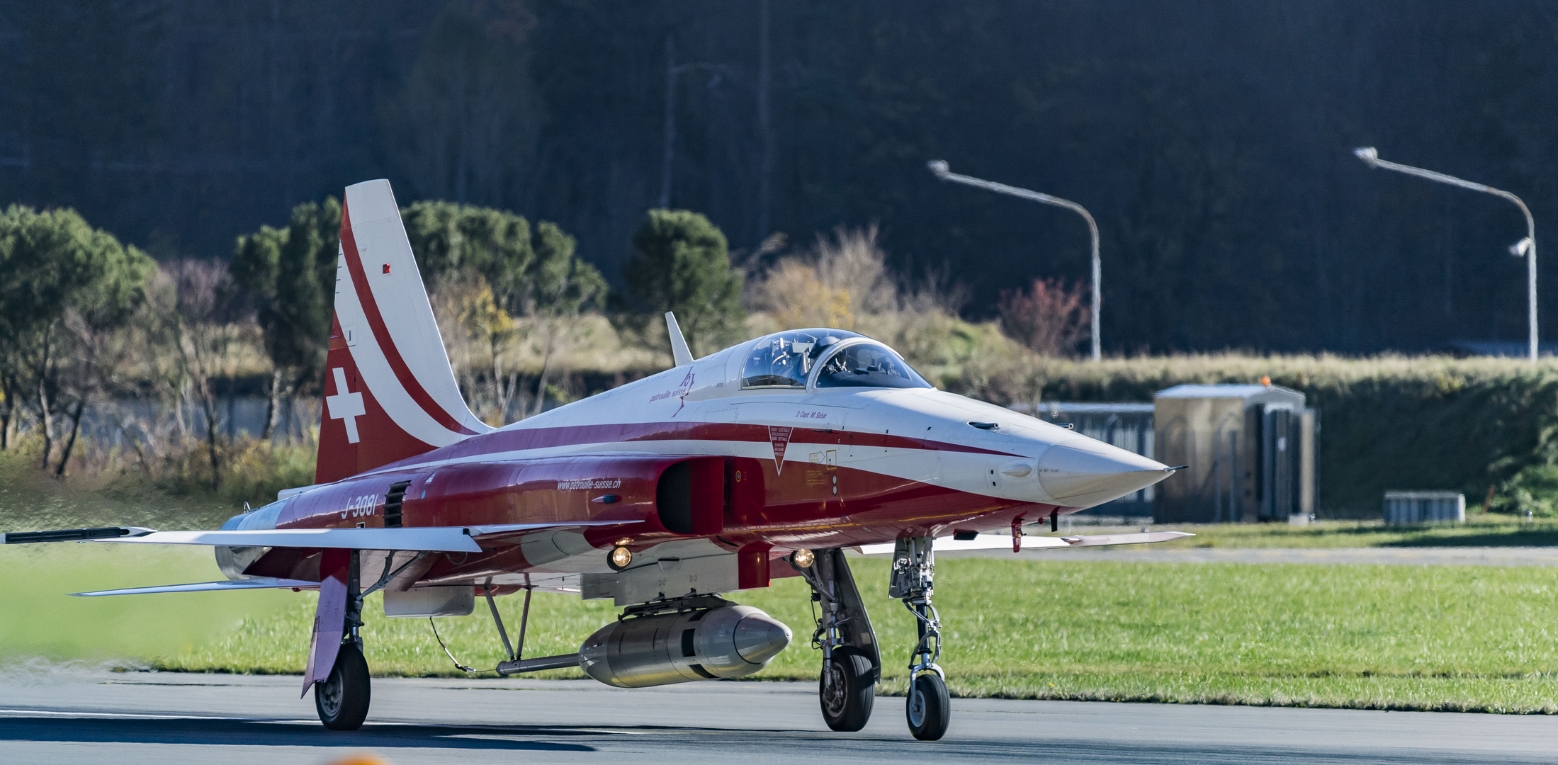 Meiringen, Air Base, Patrouille Suisse, F-5E Tiger II