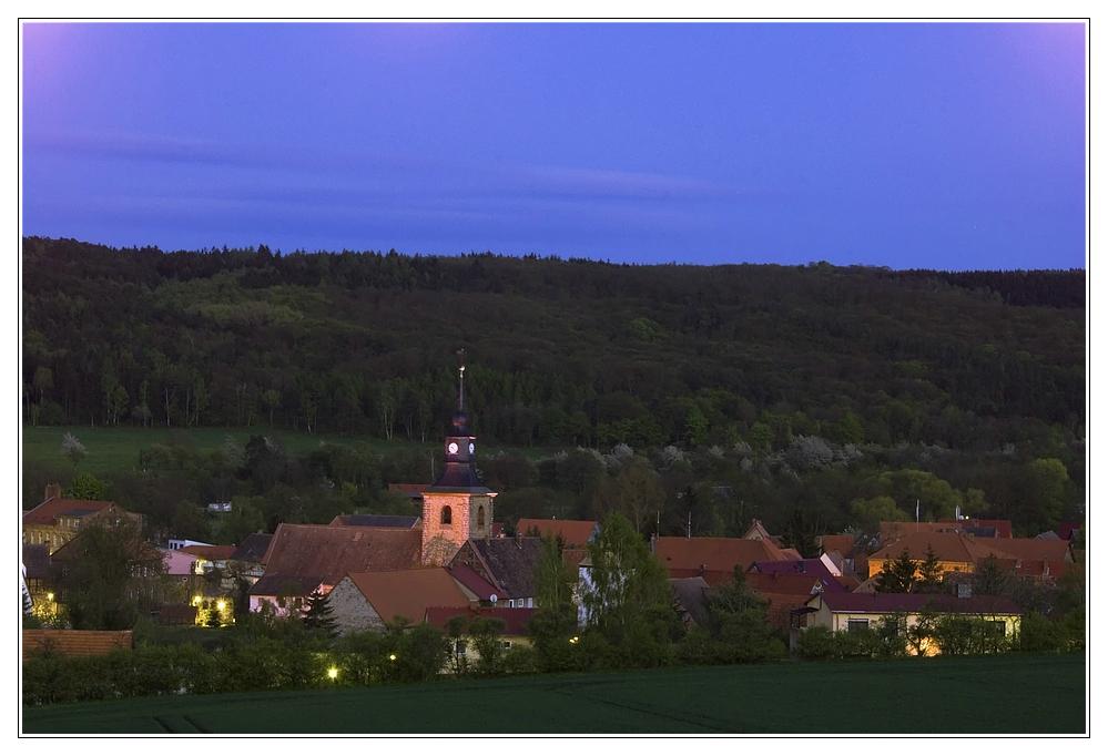 Meisdorf bei Nacht (3)