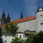 Meissen: le guglie del Duomo ed il castello di Albrechtsburg