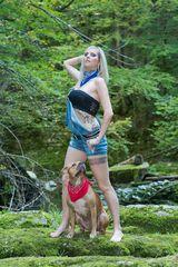 Meisterin + Hund