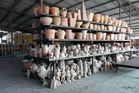 Mekong Delta - gebrannte Waren