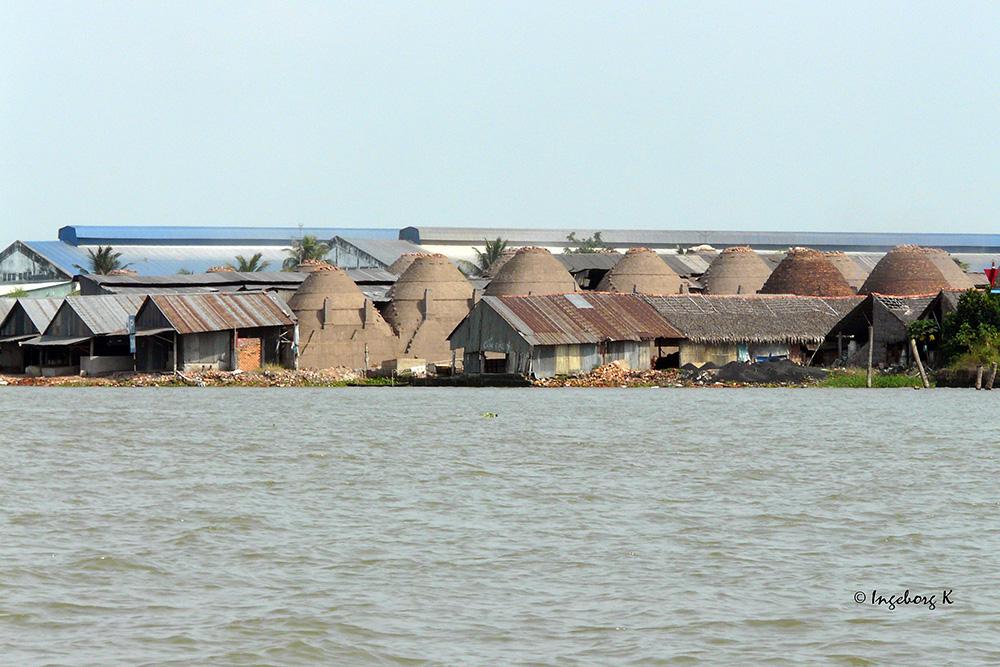 Mekong Delta - Ziegelbrennerei