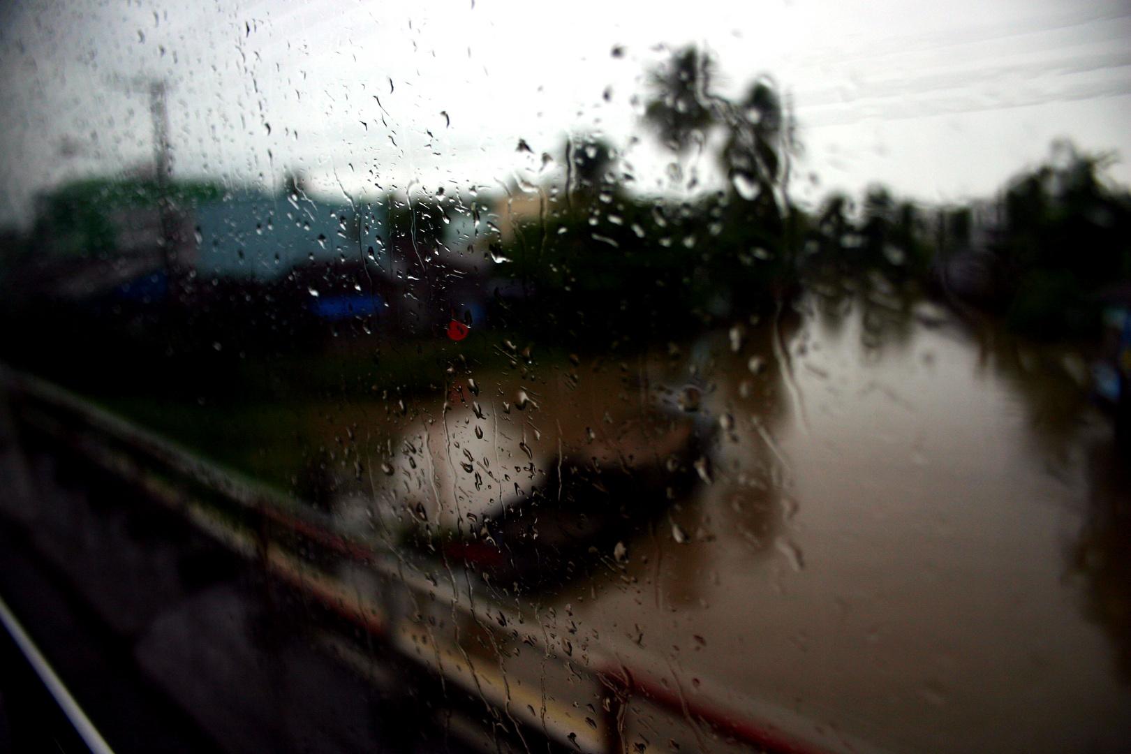 Mekong dietro la finestra