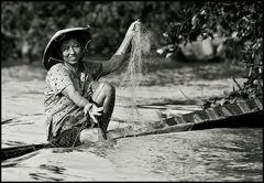~ Mekong-Fischerin ~