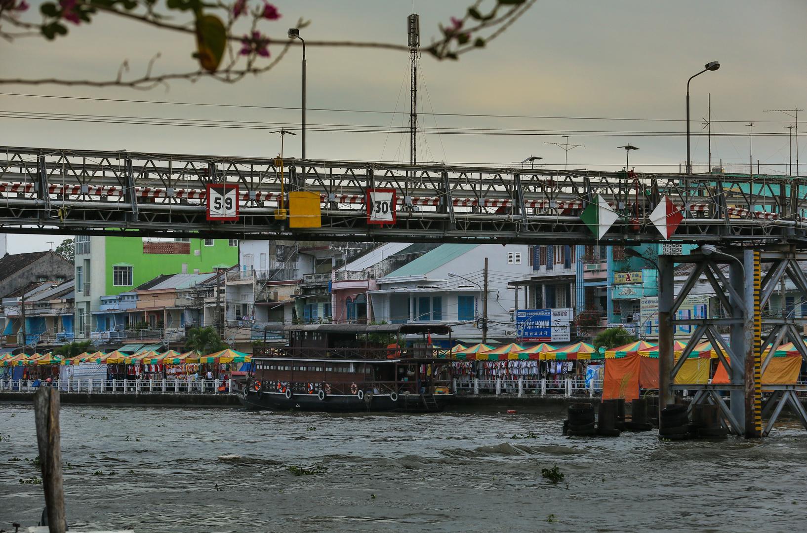 Mekong Sadec Nachtmarkt