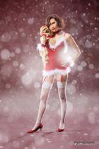 Melanie als Weihnachtsmodel auf Citydisplay.de - No. 4