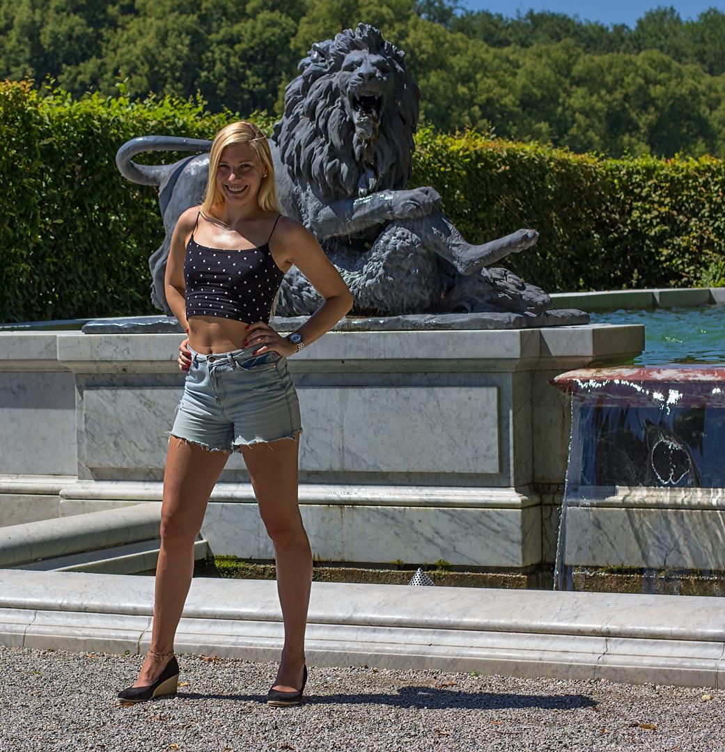 Melly91 und der Löwe