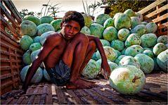 Melonen Mann