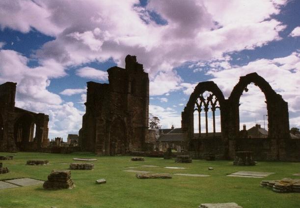 Melrose Abbey ...