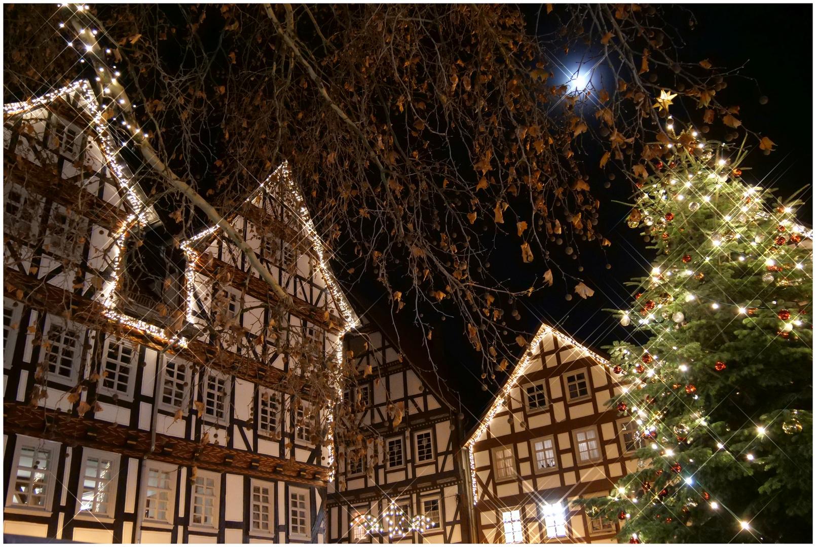 Weihnachtsmarkt Melsungen.Melsunger Weihnachtsmarkt Iv Foto Bild Winter Weihnachten
