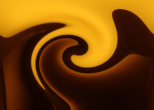 Melting Gold & Chocolate . . . .