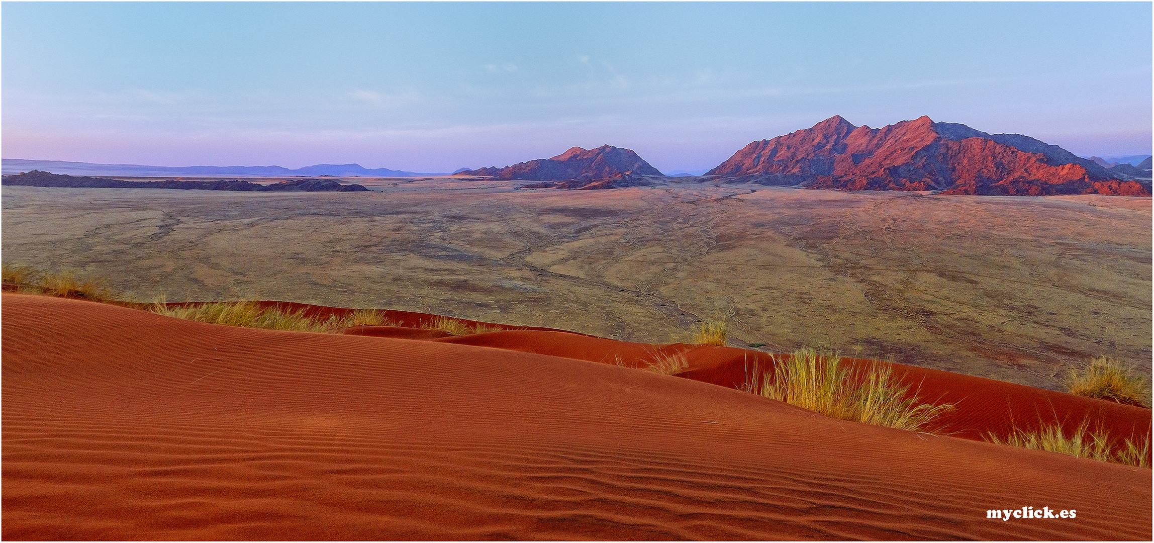 MEMORIAS DE AFRICA DESDE UNA DUNA SOSSUVLEI -NAMIBIA