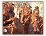 MEMORIAS DE AFRICA-EL BAILE DE LOS HIMBAS -NAMIBIA