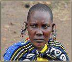 MEMORIAS DE AFRICA-MUJER MASAI-KENIA
