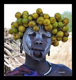 MEMORIAS DE AFRICA - MUJER MURSI - BAJO OMO - ETIOPIA