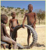 MEMORIAS DE AFRICA - NIÑOS HIMBA (Dedicada a Toni Grimalt)