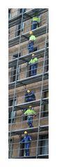 Men at work...