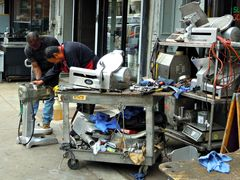 men at work - new york