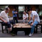 Men playing Xiangqi