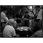Men playing Xiangqi in a Beijing Park