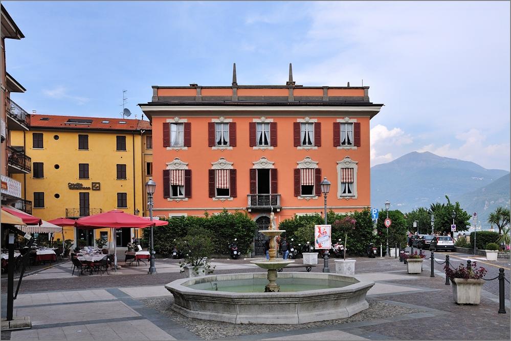 Menaggio - An der Piazzale Garibaldi