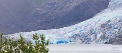 Mendenhall- der blaue Gletscher
