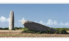 Menhir de Kergadiou