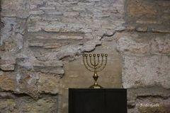 Menora in der alten Synagoge