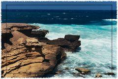 Menorca Bucht an der Nordküste