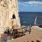Menorca, Cova d'en Xoroi mit Höhlen-Disco