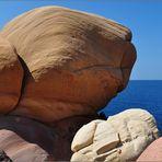 Menorca, Felsenküste Cala Morell 2