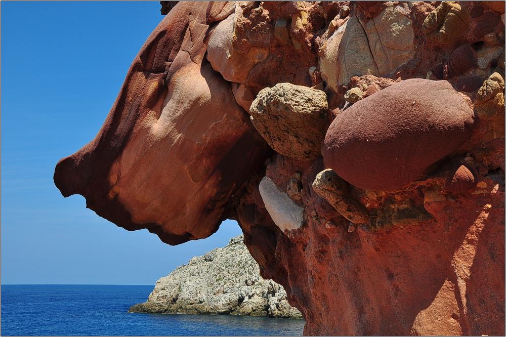 Menorca, Felsenküste Cala Morell
